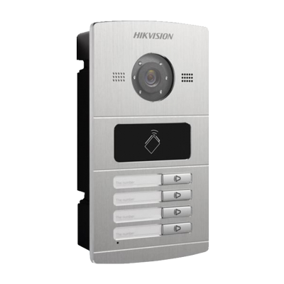 4CH Access Metal Intercom Door Station