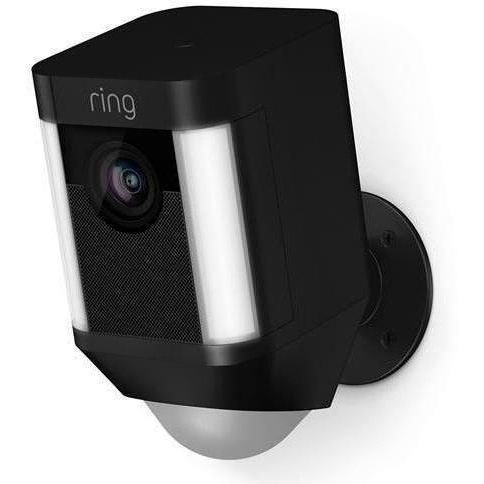 Ring Battery Spotlight Cam - Black