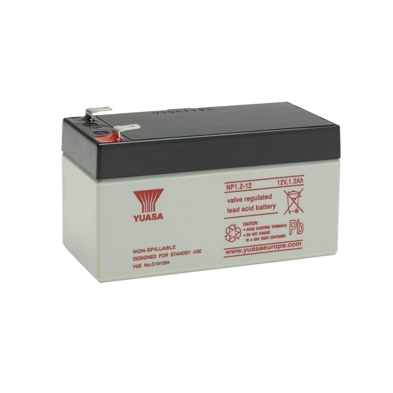 NP1.2-12 12V 1.2AH Lead Acid Battery