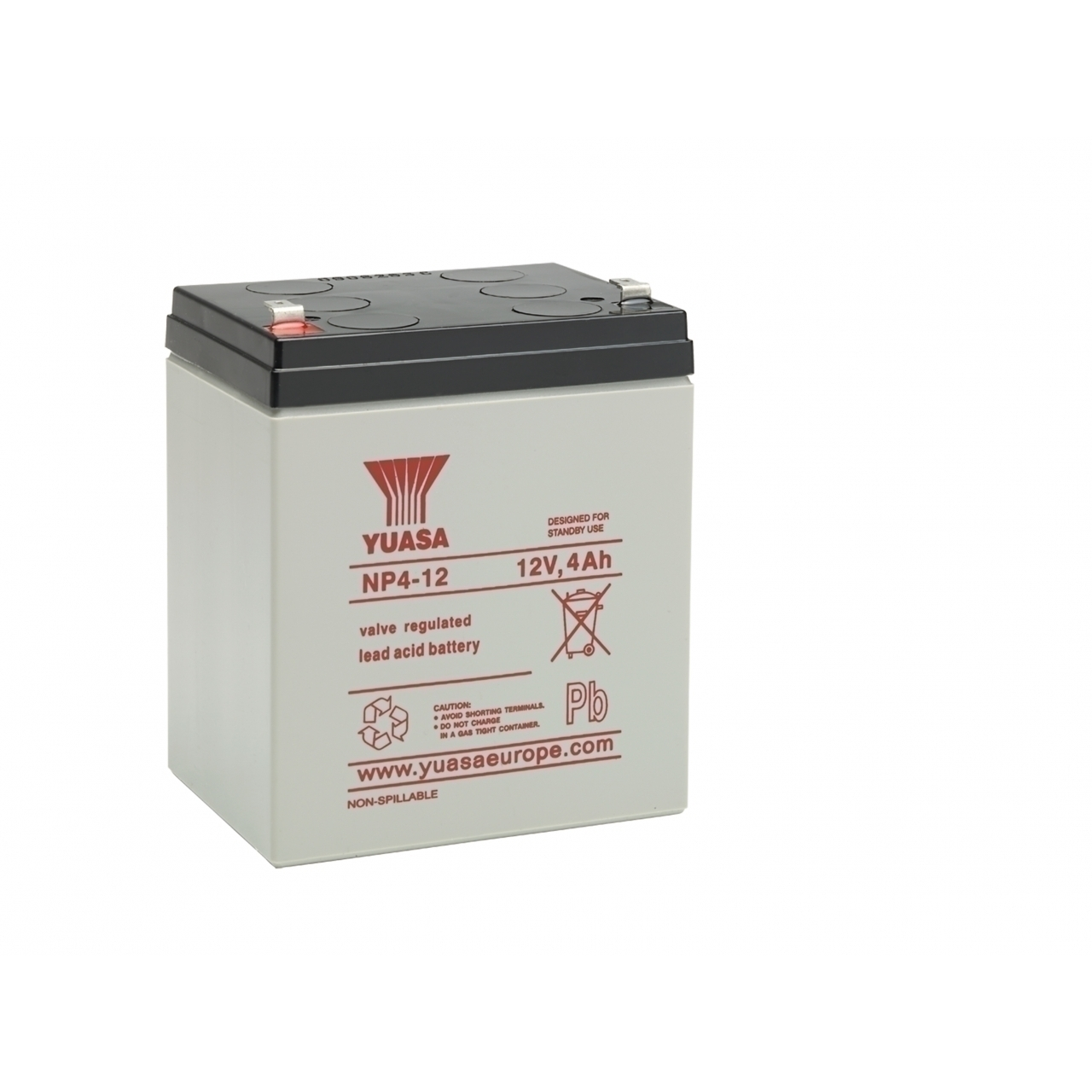 NP4-12 12V 4AH Lead Acid Battery