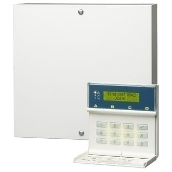 Wired 8 Zone Intruder Panel with  Keypad