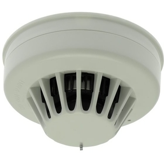Wired optical and heat smoke detector