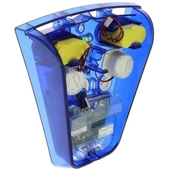 External Radio Siren in Blue