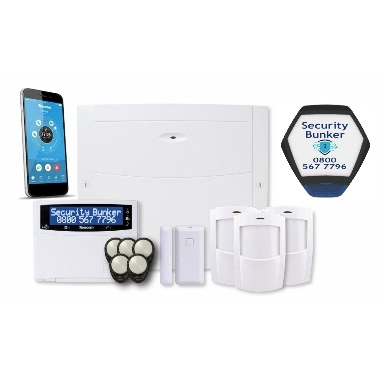 Texecom Premier Elite Wireless Alarm