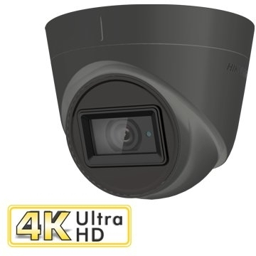 8MP Turret Camera 2.8mm Lens in Grey