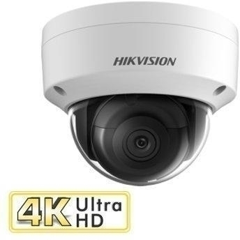 8MP 4K Dome Camera 2.8mm 30m IR POE