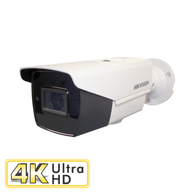 4K 8MP Varifocal Low Light Bullet Camera