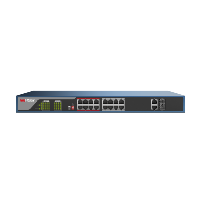 16 Port PoE+ Switch Rackmount